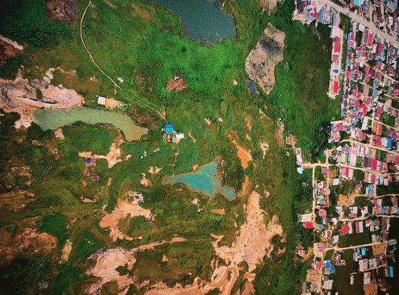 Lubang Tambang Samarinda | Foto Jatam Kaltim