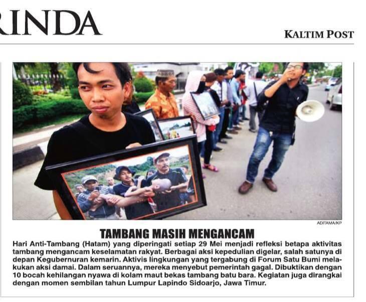 Aksi HATAM Kalimantan Timur