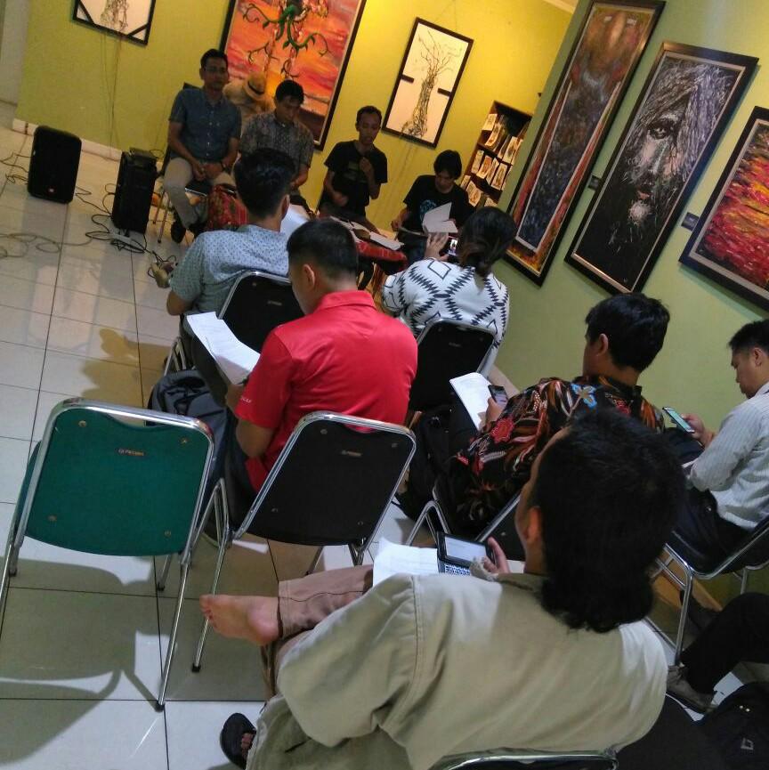 Koalisi Selamatkan Pulau Bangka menggelar Jumpa Pers di Kantor WALHI terkait Penghadangan Tim Utusan Presiden di Pulau Bangka oleh Security PT MMP