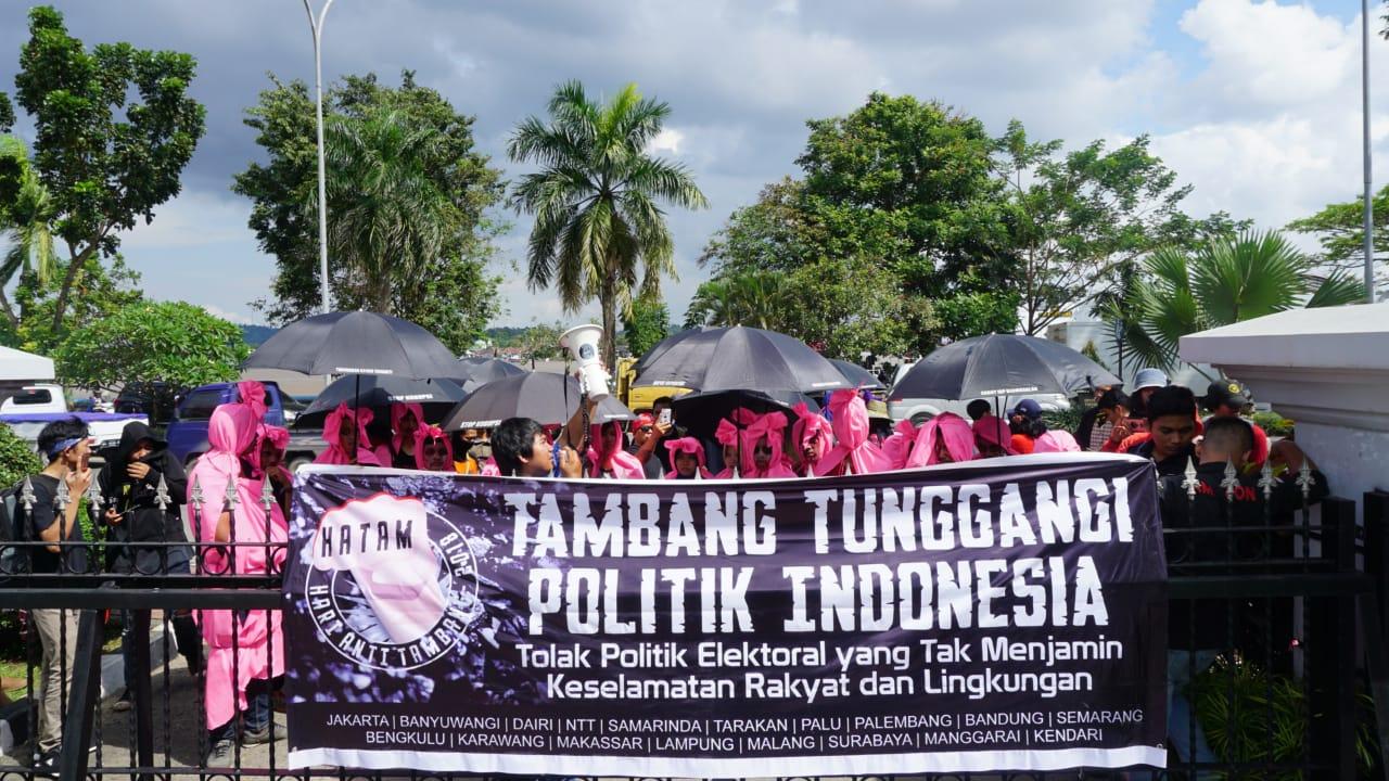 Aksi Hari Anti Tambang (HATAM) 2018 di Kalimantan Timur