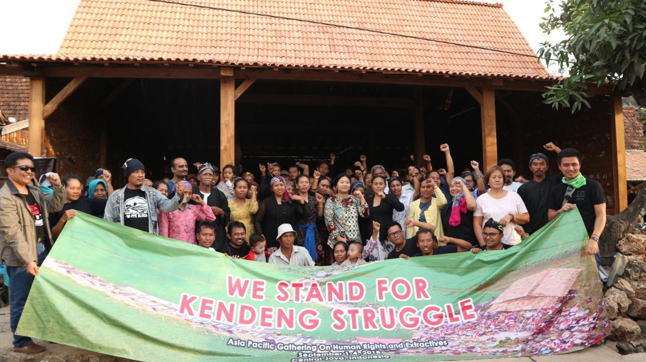 Perwakilan Aktivis dan Masyarakat Korban Industri Ekstraktif dan Hak Azasi Manusia Se-Asia Pasifik Berkunjung ke Rembang, Jawa Tengah