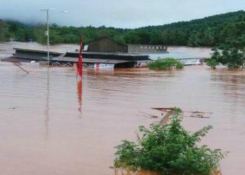 Banjir bandang di Konawe Utara. (Liputan6.com/Ahmad Akbar Fua)